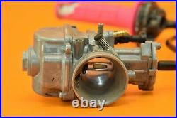02-18 2003 YZ85 YZ 85 KEIHIN Carburetor Carb Fuel Twist Throttle Cable PWK A