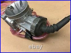 1995 95 Kawasaki KX125 Keihin PWK Carburetor Carb Throttle Cable Tube Housing