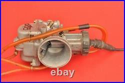 1997 97 Kawasaki Kx250 Kx 250 Carb Carburetor Keihin PWK 38mm Intake Throttle