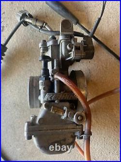 1999-2002 KX250 KX 250 Keihin PWK Carburetor Fuel Injector Body Cable Throttle