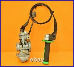 1999 99 KX250 KX 250 KEIHIN Carburetor Carb Fuel Twist Throttle Cable PWK