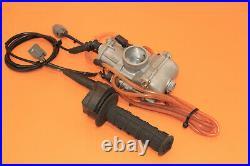 2000 00 KX250 KX 250 Keihin PWK Carburetor Fuel Injector Body Cable Throttle