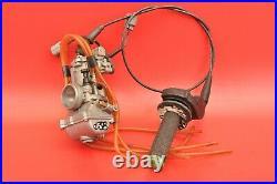 2001 01 Kawasaki Kx250 Kx 250 Carb Carburetor Keihin PWK 38mm Intake Throttle