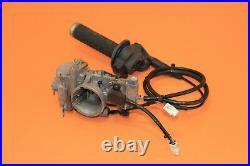 2001 01 YZ250 YZ 250 Keihin PWK Carburetor Throttle Body Fuel Injector Twist TPS