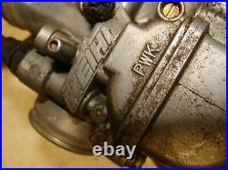 2003 01-13 Kawasaki KX85 oem KEIHIN PWK carb carburetor with throttle and cable