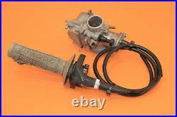 2006 05-07 CR85R CR85 Keihin PWK 28 Carburetor Throttle Body Fuel Injector Twist