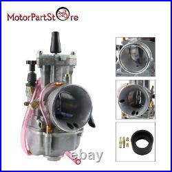 34mm OKO PWK Power Jet Carburetor Carb Flat Silde For Dirt Bike Motorcycle