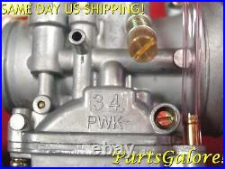 34mm PWK Performance Racing Smooth Bore Flat Slide Power Jet Carburetor