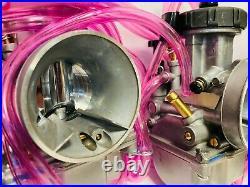 Banshee 34m 35mm PWK Carbs Carb Quad Vent Set Pair Carburetors Filter Cub Serval