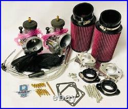 Banshee 35mm 34 Mil Carb Kit PWK Style Carbs Carburetor Complete Quad Vent Kit