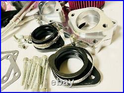 Banshee 38mm 38 mil GENUINE KEIHIN PWK Carbs Carb Carburetor Kit Complete Intake
