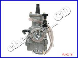 Carburetor 34mm OKO 2-Stroke Racing Flat Side PWK Carb With Power Jet Gy6 150cc
