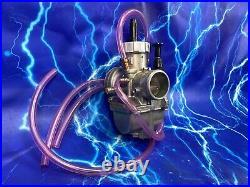 Complete 2 Stroke 28mm Carburetor Kit KEIHIN PWK Carb Intake Genuine OEM Stock