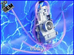 Complete 2 Stroke 36mm Carburetor Kit KEIHIN PWK Carb Intake Genuine OEM STOCK
