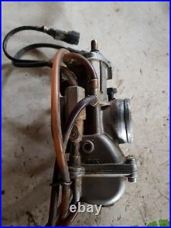 Complete 2 Stroke 39mm Carburetor KEIHIN PWK Carb Intake SUZUKI RM 250 2003
