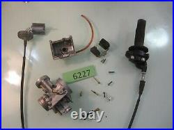 Complete 2 Stroke 39mm Carburetor Kit KEIHIN PWK Carb Intake Genuine OEM Stock
