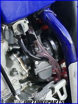 Complete 38mm Carburetor Kit KEIHIN PWK Carb Intake Quad Vent Genuine OEM Stock