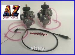 GENUINE Banshee 350 Keihin PWK 33 Carbs Carburetors Terry Thumb Throttle Cable