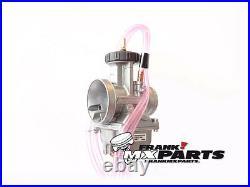Keihin PWK 38 Air Striker carburetor NEW / 38mm. Quad vent AS series carb