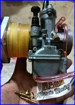 Keihin PWK 38 mm Carburetor kit + Cable + Manifold