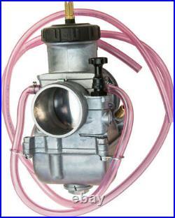Keihin PWK 39mm 39 mil Chrome Flat D Slide Carb Carburetor LT500 TRX250R 016-155