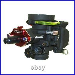 NIBBI Racing Performance Carburetor 24MM PWK24 Carb For Go Kart Dirt Pit Bike