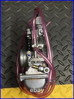 New Genuine Keihin PWK 36S Quad Vent Air Striker Carburetor Yamaha YZ 125 250