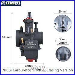Nibbi Pwk28mm High Performance Racing Carburettor Carb Motorcycle