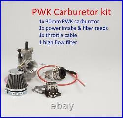 Performance PWK 30mm Carburetor kit for Polaris 2T Predator 90cc 2003 2004