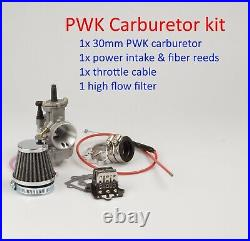 Performance PWK 30mm Carburetor kit for Polaris 2T Sportsman 90cc 2001 2006 TW