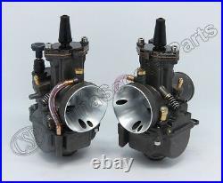 Triumph T140 PWK Carburetor Set Amal MK II Alternative Flatslide 30mm Spigot 750