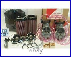 Yamaha Banshee 35 mil Carb Kit COMPLETE Genuine Keihin PWK Carbs Manifold Jets